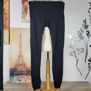 LULULEMON LEGGINS BLACK SIZE 10